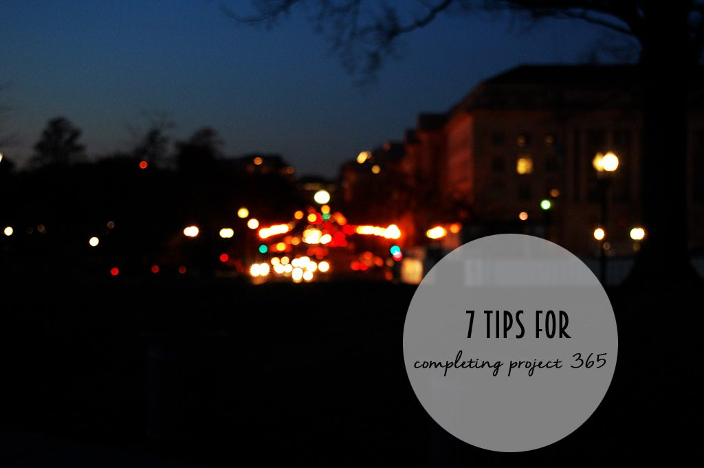 If you're interested in Project 365, check out these 7 tips! // dreams-etc.com
