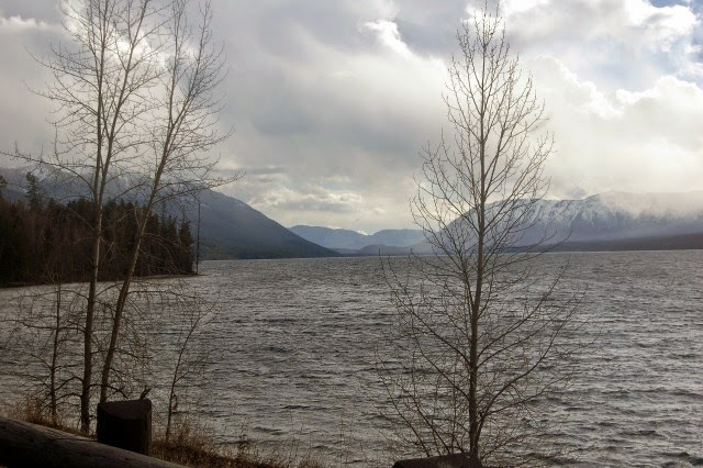 Gorgeous views without the crowd await at Glacier National Park during the off season. // Dreams, etc.