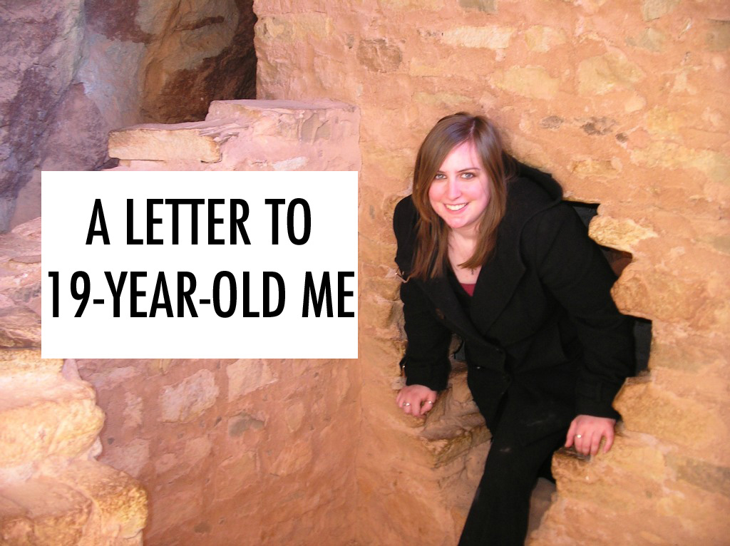 A letter to 19-year-old me. // dreams-etc.com