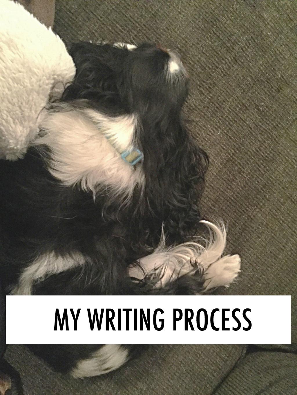 A peek at my novel-writing process. // dreams-etc.om