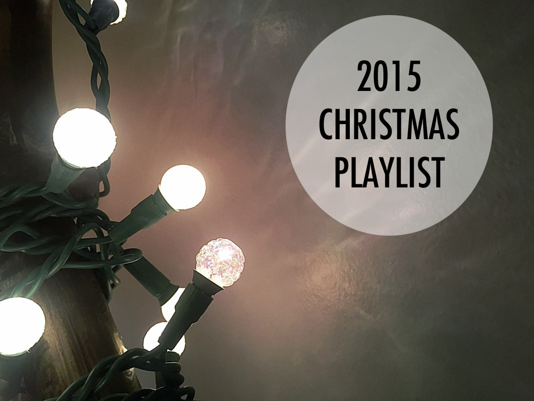 A festive Christmas playlist. // dreams-etc.com