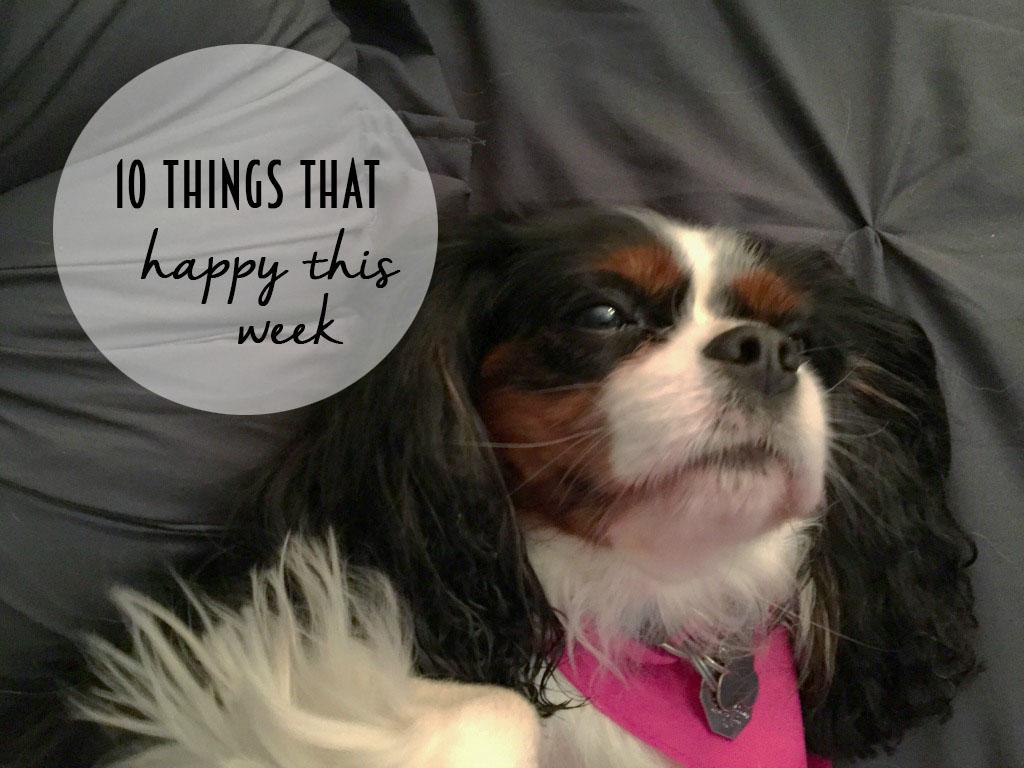 10 Things That Made Me Happy This Week // dreams-etc.om