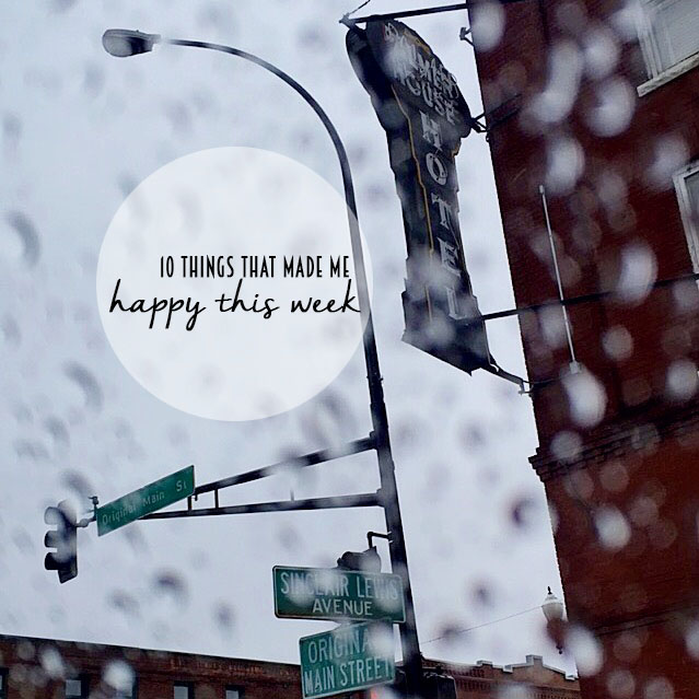 Reflecting on the little joys each week. // dreams-etc.com