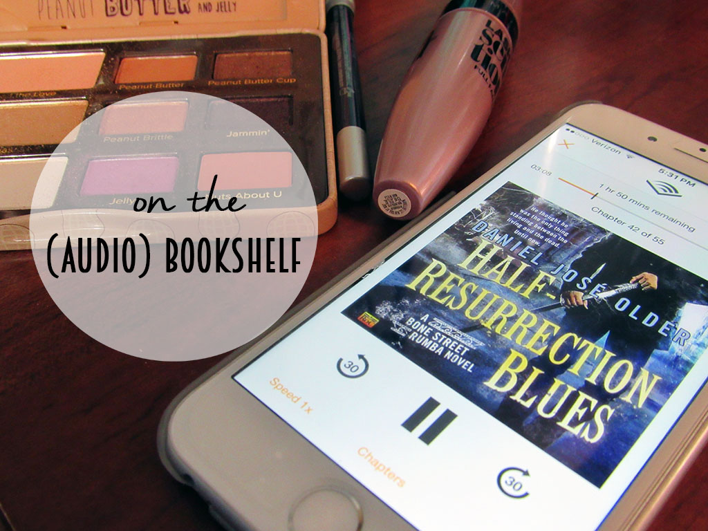 A review of the audiobook Half-Resurrection Blues, narrated by the author, Daniel José Older. // dreams-etc.com