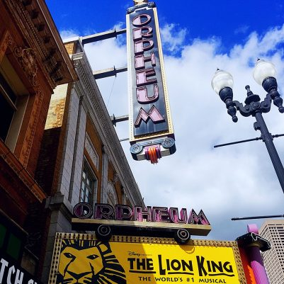 A night out with my niece to see The Lion King at the Orpheum in Minneapolis. // dreams-etc.com