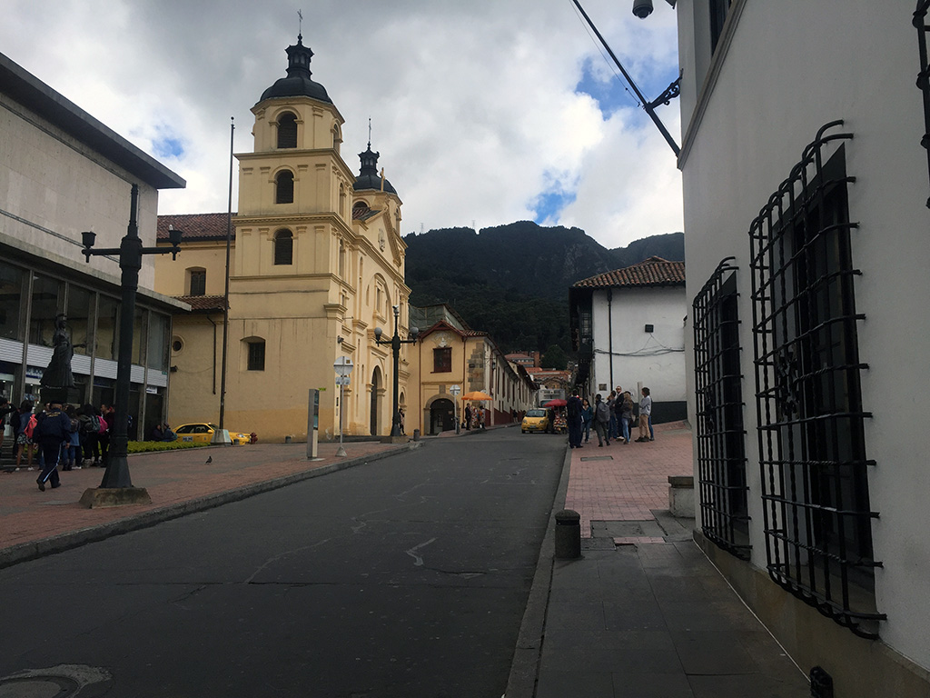 Art, old churches and delicious food abound in La Candelaria, the historic district in Colombia. // dreams-etc.com