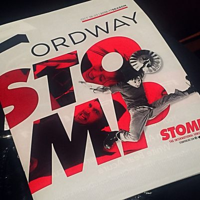 A recap of Stomp at the Ordway in St. Paul. // dreams-etc.com