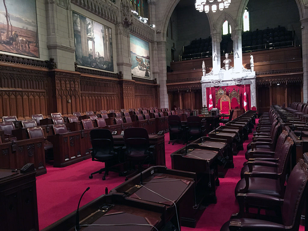 "Visit ""the Hill"" and see the gothic-style Parliament building, warm up by the Centennial Flame and go up to the Peace Tower when you visit Ottawa! // dreams-etc.com"