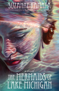 Suzanne Kamata shares some of the mermaid inspiration for her novel THE MERMAIDS OF LAKE MICHIGAN. // dreams-etc.com