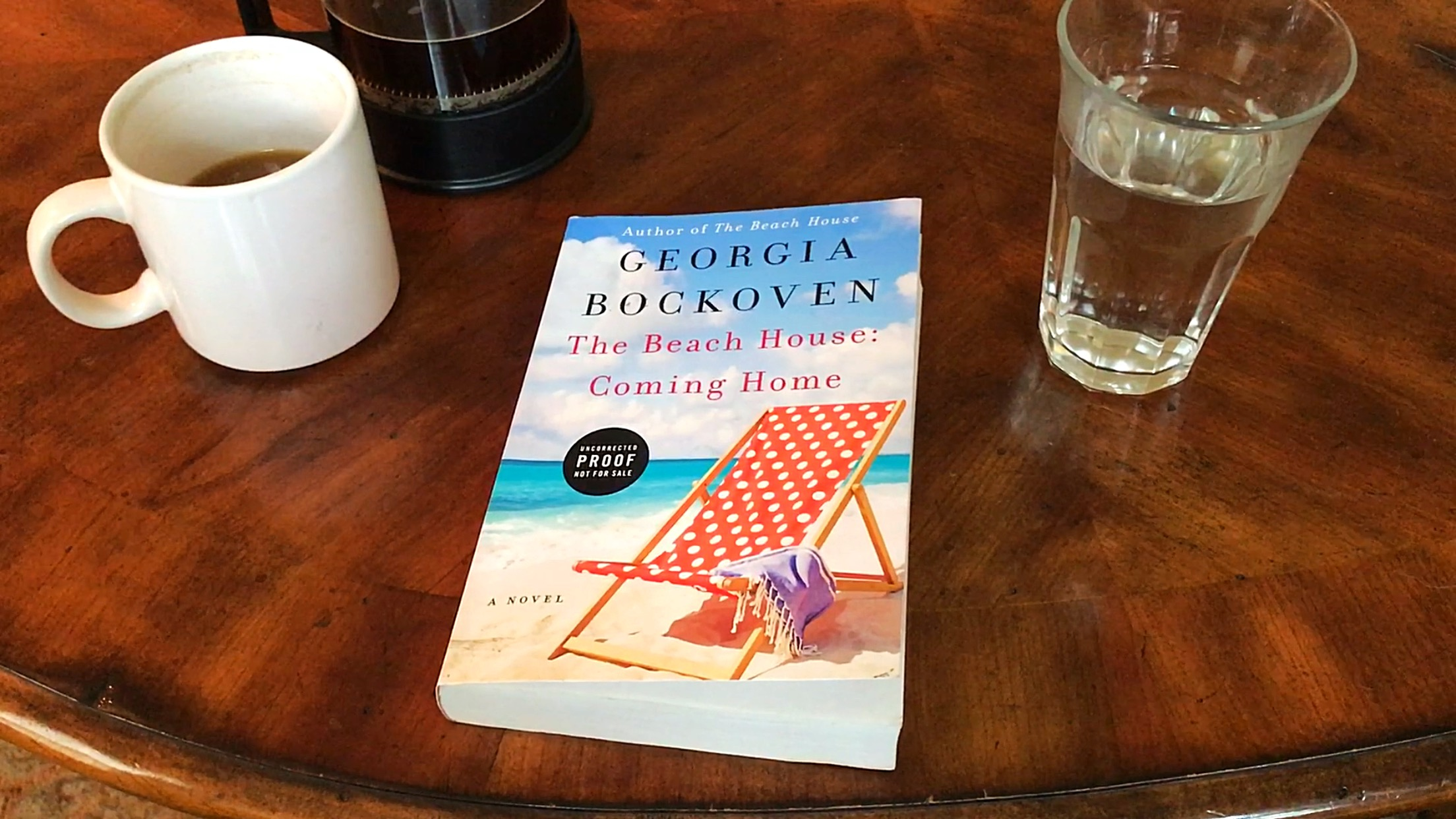 A review of The Beach House: Coming Home by Georgia Bockoven. // dreams-etc.com