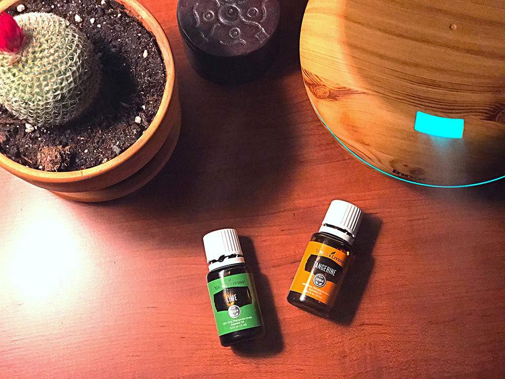 A day in the life of essential oils. What I use and how I use them from the POV of someone who isn't a fanatic. // dreams-etc.com