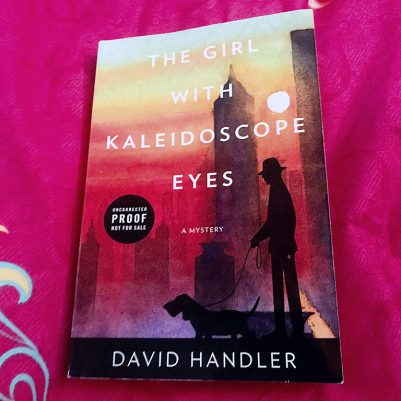 A book review of The Girl With Kaleidoscope Eyes, in which Daniel Handler revives his beloved writer-turned-investigator Stewart Hoag, and Hoag's pup Lulu.
