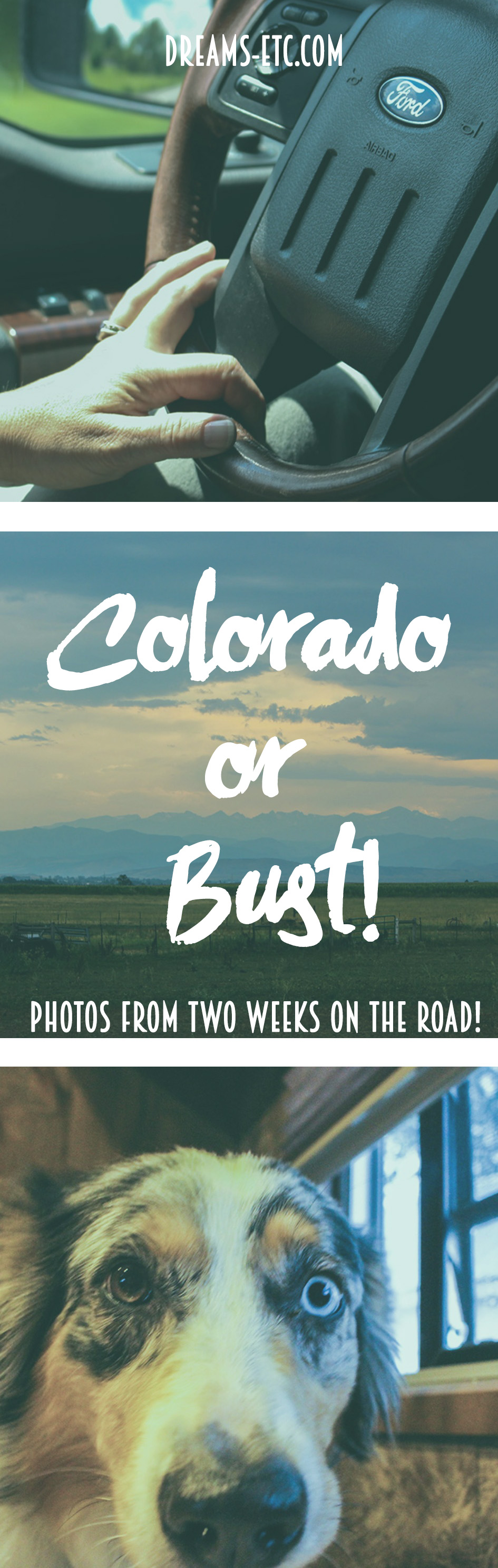 Sometimes you just need to escape your day-to-day life for awhile. A road trip to Colorado was perfect for that! Here are some photos from the trip!