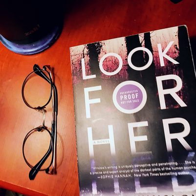 A book review of the thriller Look for Her by Emily Winslow. Years ago a young woman who went missing became a legend, even after her body was found. Now, DNA evidence has turned up in the case, but it complicates everything when it proves the body isn't hers.