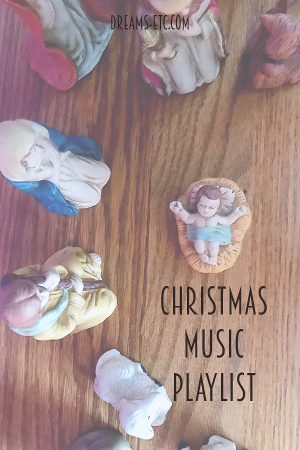 Sit by your Christmas tree, sip some hot chocolate, and listen to some tunes! Our annual Christmas music playlist is here! // Dreams, etc.
