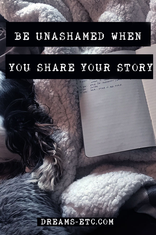 Our stories can fill us with shame and embarrassment. We don't want to share our story because we feel we're all alone. The truth is: we're not alone. And our stories have the power to connect us.