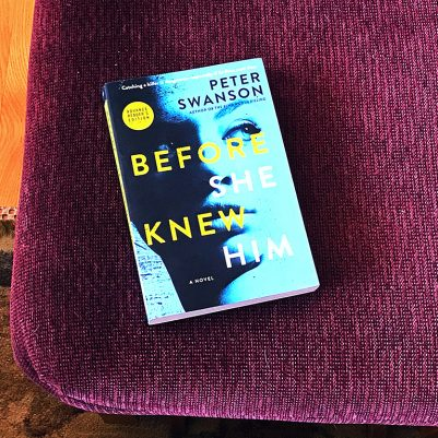 A review of Before She Knew Him by Peter Swanson. // dreams-etc.com