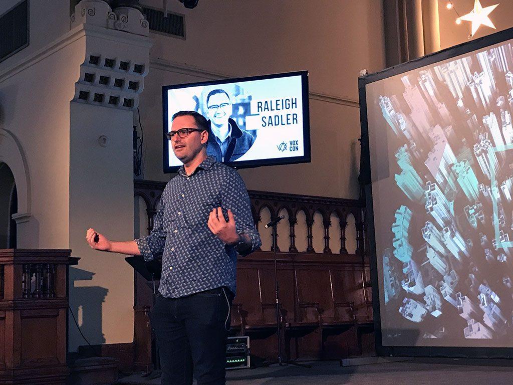 Raleigh Sadler speaks at VoxCon 2019
