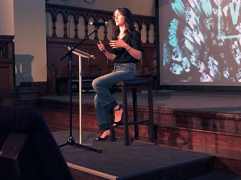 Alexandra Bernath speaks at VoxCon 2019